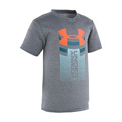 Boys 4-7 Under Armour Rising Big Logo Performance Tee