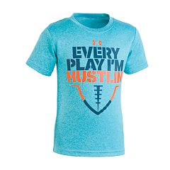 Boys 4-7 Under Armour Football 'Every Play I'm Hustling' Graphic Tee