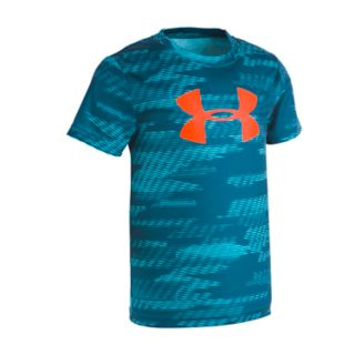 Boys 4-7 Under Armour Trave Big Logo Abstract Performance Tee