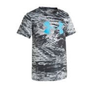 Boys 4-7 Under Armour Vertigo Big Logo Abstract Performance Tee