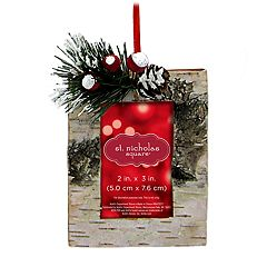 St. Nicholas Square® Birch 2' x 3' Photo Holder Christmas Ornament