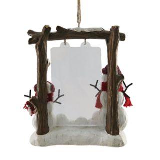 """St. Nicholas Square® """"Grandkids"""" 2"""" x 3"""" Photo Holder Christmas Ornament"""