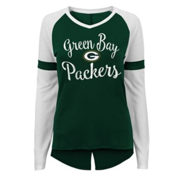 Juniors' Green Bay Packers Splitback Tee