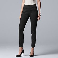 Women's Simply Vera Vera Wang Everyday Luxury Pull-On Jeggings