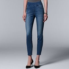 Women's Simply Vera Vera Wang Pull-On Skinny Jeans