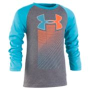 Boys 4-7 Under Armour Rising Big Logo Raglan Graphic Tee