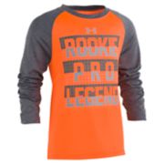"Boys 4-7 Under Armour ""Rookie Pro Legend"" Raglan Graphic Tee"