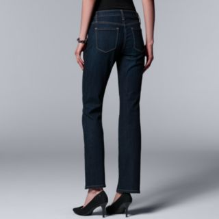 Women's Simply Vera Vera Wang Everyday Luxury Midrise Bootcut Jeans