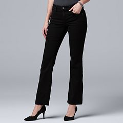 Women's Simply Vera Vera Wang High-Rise Bootcut Jeans