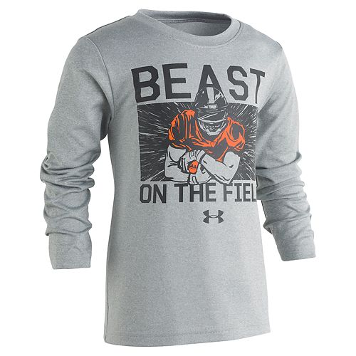 """Boys 4-7 Under Armour""""Beast On The Field"""" Graphic Tee"""
