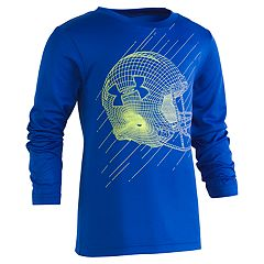 Boys 4-7 Under Armour Linear Football Helmet Graphic Tee