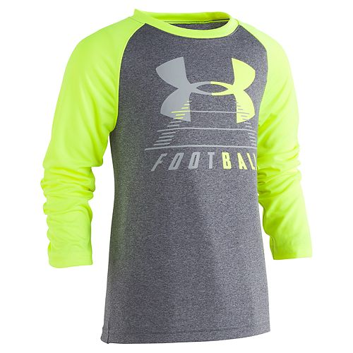 "Boys 4-7 Under Armour ""Football"" Raglan Graphic Tee"