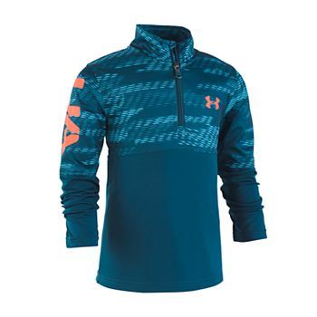 Under Armour Boys Little Quarter Zip Pull Over Jacket
