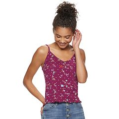 Juniors' SO® Ruffled Cami