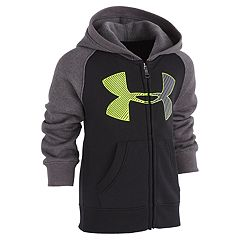 Boys 4-7 Under Armour Logo Raglan Zip Hoodie