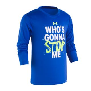 """Boys 4-7 Under Armour """"Who's Gonna Stop Me"""" Graphic Tee"""