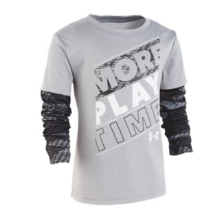 "Boys 4-7 Under Armour ""More Play Time"" Graphic Tee"