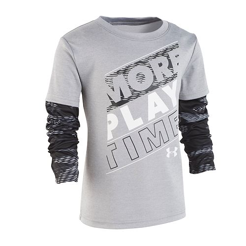 """Boys 4-7 Under Armour """"More Play Time"""" Graphic Tee"""