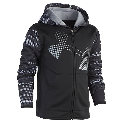 Boys 4-7 Under Armour Abstract Zip Hoodie