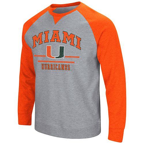 Men's Miami Hurricanes Turf Sweatshirt