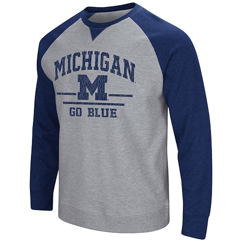 Men's Michigan Wolverines Turf Sweatshirt