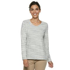 Women's Croft & Barrow® Classic V-Neck Tee