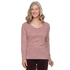 20ecebcf0 Womens Croft & Barrow Tops, Clothing | Kohl's