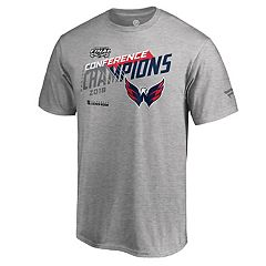 Men's Washington Capitals 2018 Conference Champions Chip Pass Tee