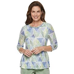 Women's Alfred Dunner Studio Stained Glass Top