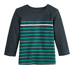Baby Boy Jumping Beans® Striped Ribbed Top