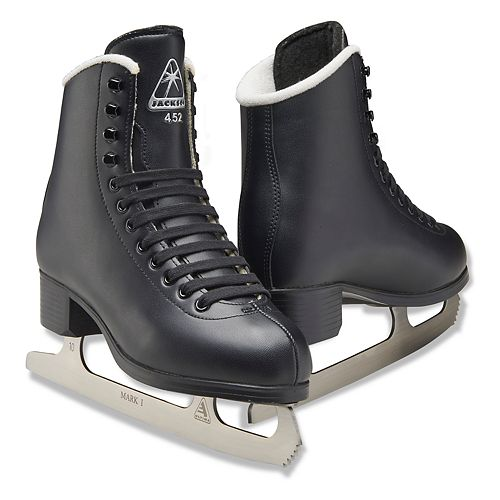 Boys Jackson Black Finesse Series Recreational Ice Skates