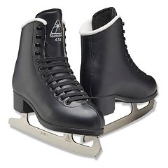 Kids Jackson Black Finesse Series Recreational Ice Skates