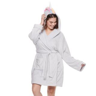 Plus Size SO® Plush Unicorn Robe