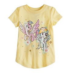Toddler Girl Jumping Beans® My Little Pony Twilight Sparkle & Rainbow Dash Graphic Tee