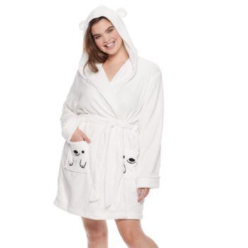 Plus Size SO® Plush Bear Robe