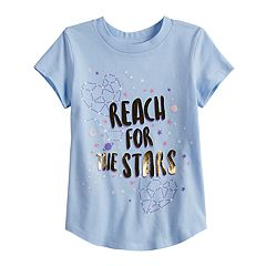 Toddler Girl Jumping Beans® 'Reach For The Stars' Constellation Graphic Tee