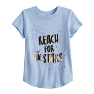 "Toddler Girl Jumping Beans® ""Reach For The Stars"" Constellation Graphic Tee"