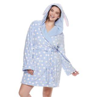 Plus Size SO® Plush Bunny Robe