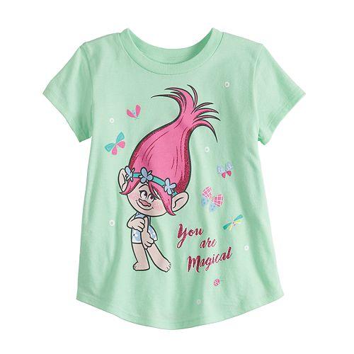 Toddler Girl Jumping Beans® DreamWorks Trolls Poppy Glitter Graphic Tee