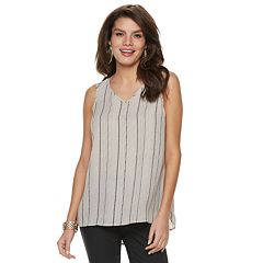 Women's Apt. 9® V-Neck Georgette Tank