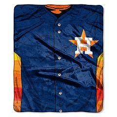 Houston Astros Jersey Raschel Throw by Northwest