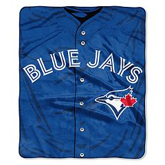 Toronto Blue Jays Jersey Raschel Throw by Northwest