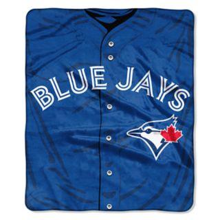 Toronto Blue Jays Jersey Raschel Throw by Northwest