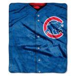Chicago Cubs Jersey Raschel Throw by Northwest