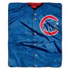 Chicago Cubs Jersey Raschel Throw by Northwest