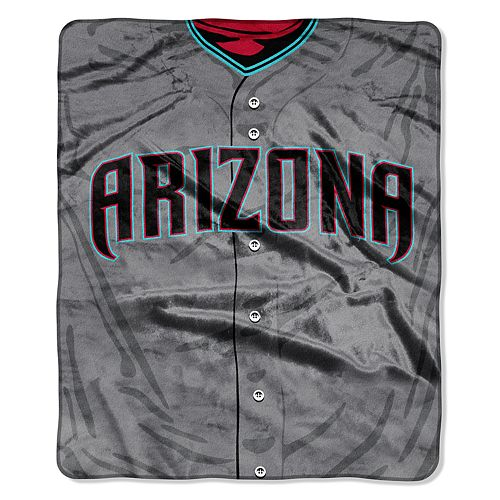 Arizona Diamondbacks Jersey Raschel Throw by Northwest