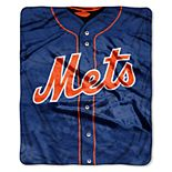 New York Mets Jersey Raschel Throw by Northwest