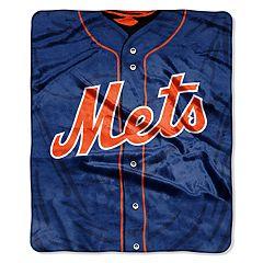 New York Mets Jersey Raschel Throw by Northwest