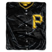 Pittsburgh Pirates Jersey Raschel Throw by Northwest