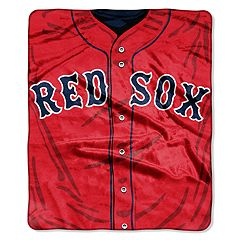 Boston Red Sox Jersey Raschel Throw by Northwest